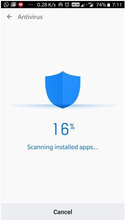 Clean Master lite App antivirus review