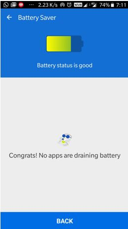 Clean Master lite App battery saver