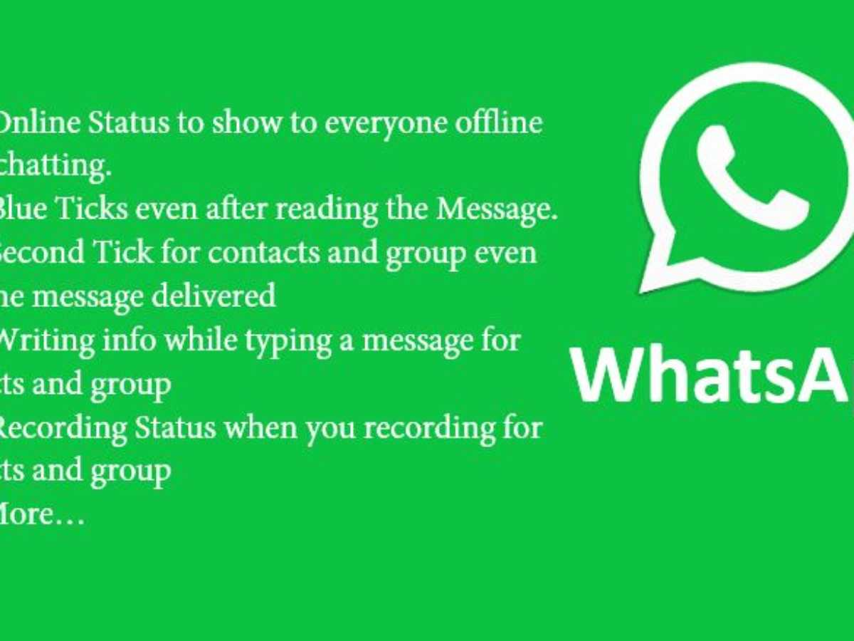 Gbwhatsapp Hide Blue Tick Second Tick Last Seen More On