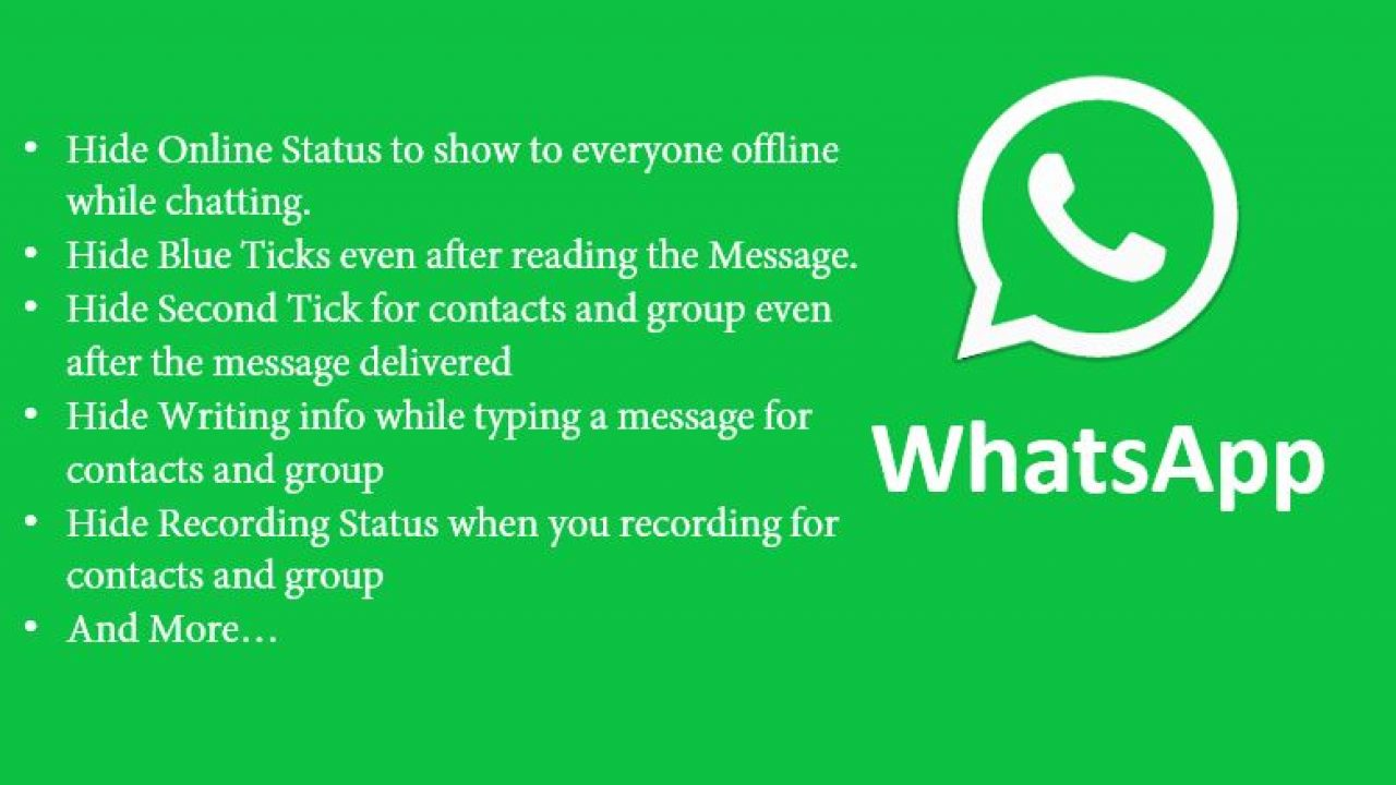 GBWhatsApp: Hide Blue Tick, Second Tick, Last Seen & More On