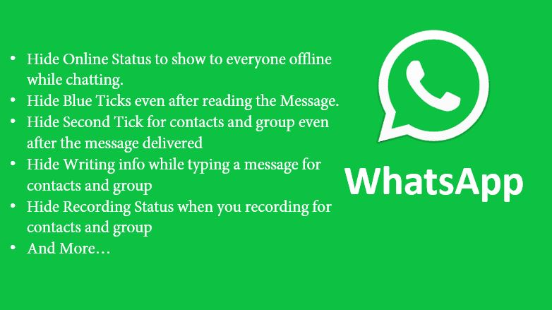 Hide Blue Tick, Second Tick, Last Seen & More On WhatsApp