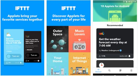 IFTTT Android Excellence Apps