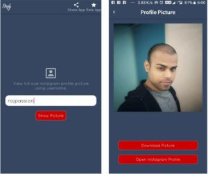 Instagram Profile Picture Downloader profy