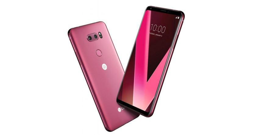 LG V30 Raspberrry Rose Varaint will Introduce at CES 2018