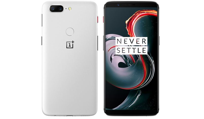 OnePlus 5T Sandstone White is Officially available at $559.00