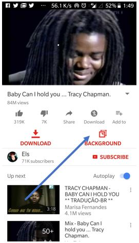 Play Youtube video in Background