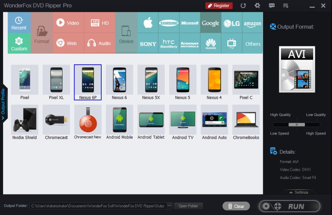 WonderFox DVD Ripper Pro Main Features
