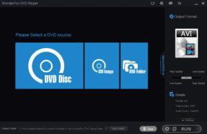 WonderFox DVD Ripper Pro supports to rip DVD Disc