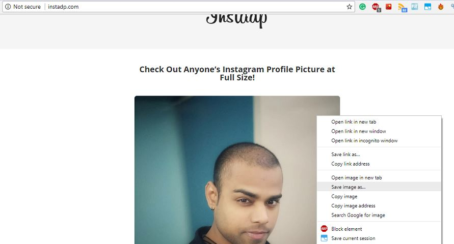 How to View Instagram Profile Picture in full size on Android & Desktop