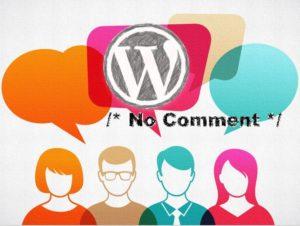 Disabel wordpress comments completely