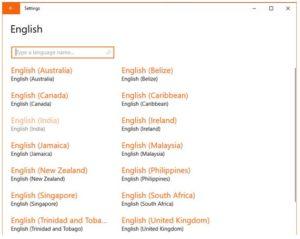 English India language to add indian ruppee symbol