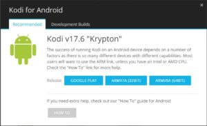 Install Kodi for Android