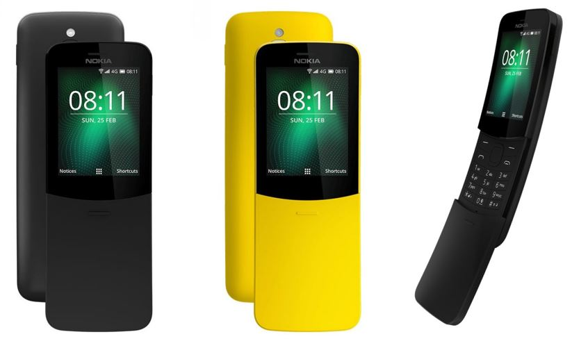 Nokia 8110 4G Banana Phone is Back with Google Maps, Assistant and more