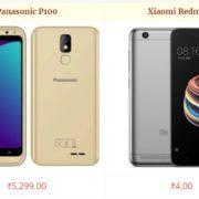 Panasonic P100 vs Xiaomi Redmi 5A Comparison Specs and Features