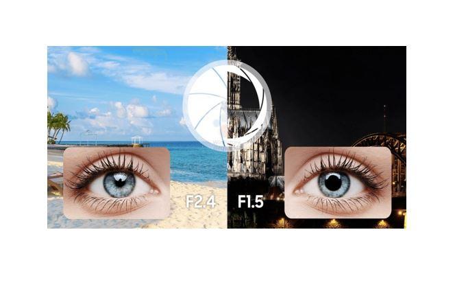 Samsung Galaxy S9 camera configuration