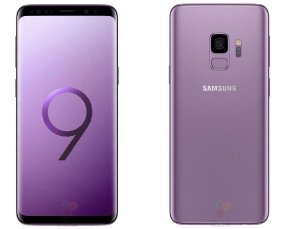 Samsung Galaxy S9 in Lilac Violet color