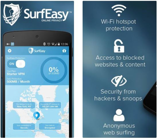 SurfEasy Free VPN