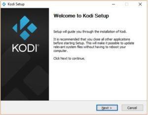 Welcome to Kodi Setup