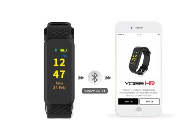 Yogg HR smart tracker hear monitor