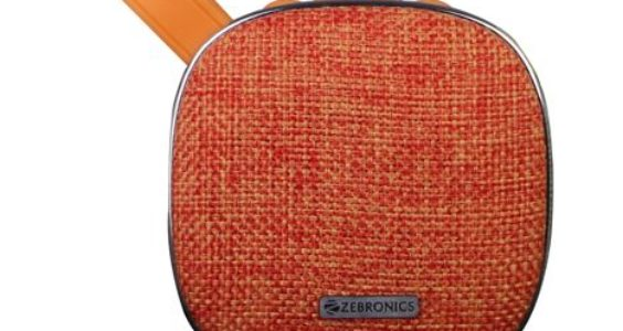 Zebronics Passion wireless bluetooth speaker orange