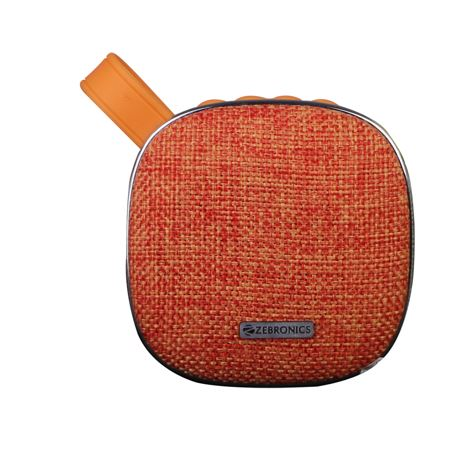 Zebronics Passion wireless bluetooth speaker orange