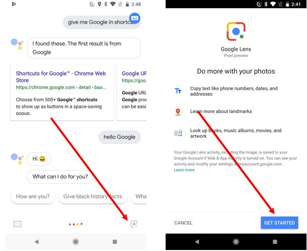 How To Activate & Use the Google Lens on Your Android Phone
