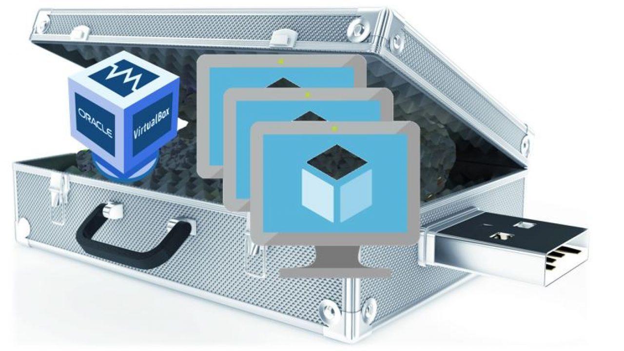 How To install Portable Virtualbox on USB to Run Virtual