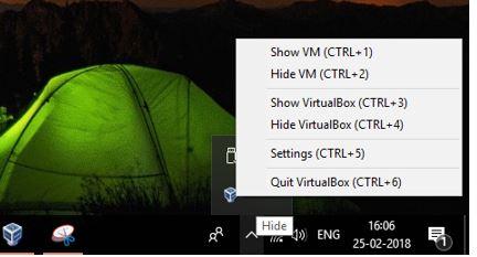 shortcuts for portable virtual box virtual machines
