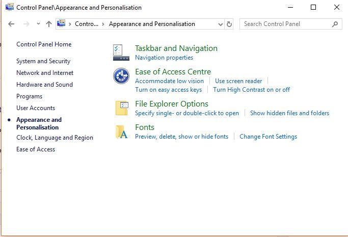 uninstall fonts on Windows 10
