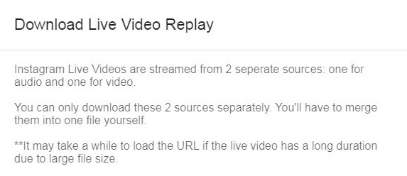 Download Live Video Replay