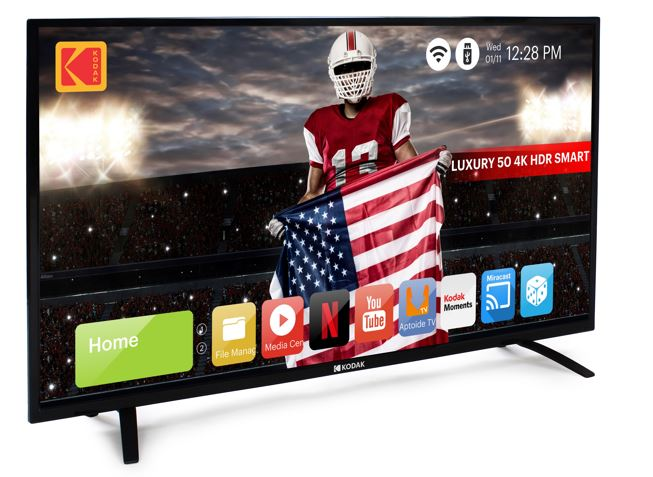 50-inch KODAK 4K 50UHDXSMART LED TV,