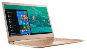 Acer Swift 5 golden color
