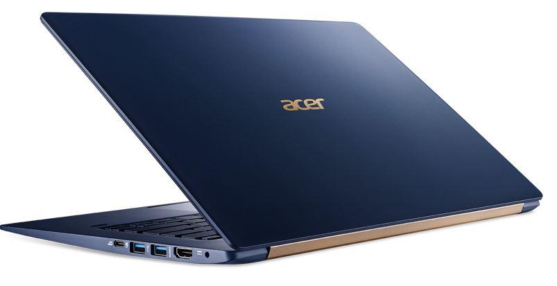 Acer Swift 5 royal blue color light laptop