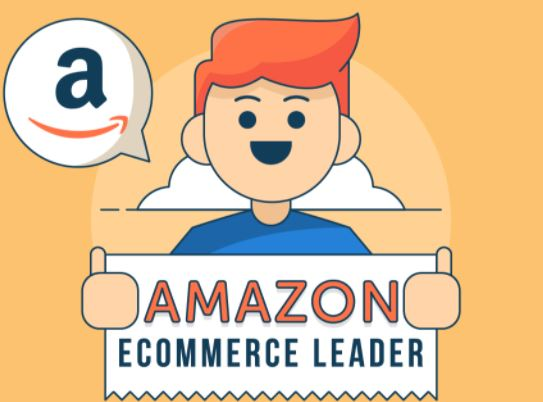 Amazon Ecommerce leader infographics