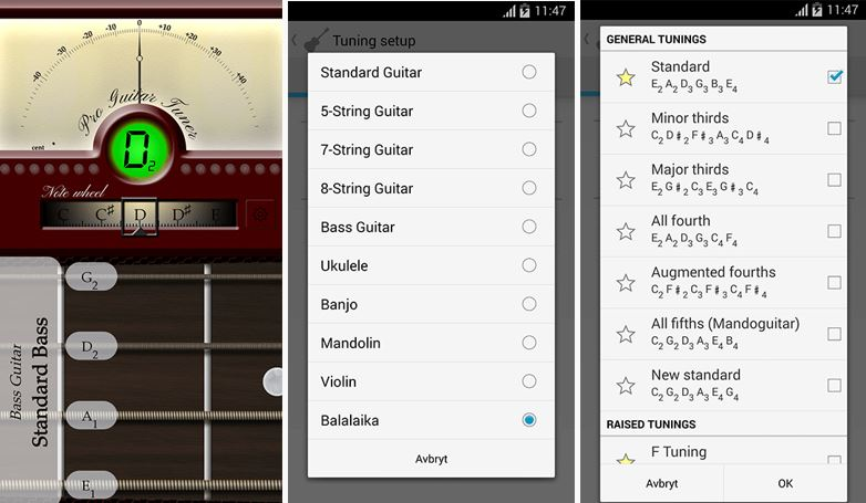 Guitar Tuner Free - GuitarTuna   for Android - Download