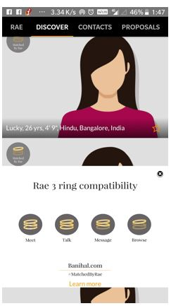 Banihal Rae 3-ring compatibility scale