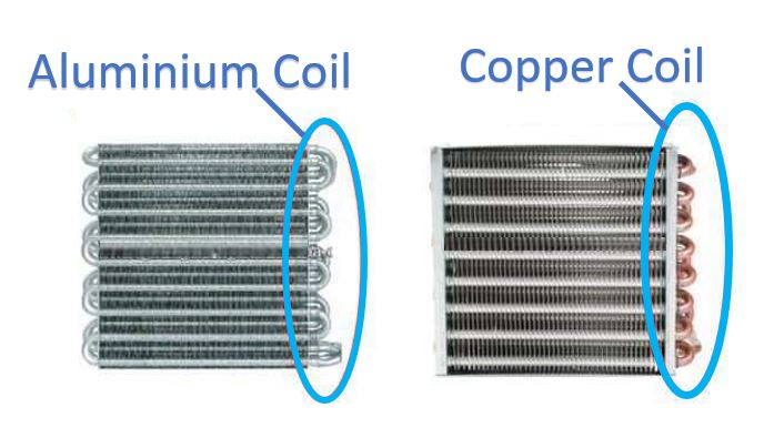 Copper unit or aluminum unit