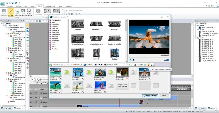 Free VSDC Video Editor for windows 10, Linux and Mac