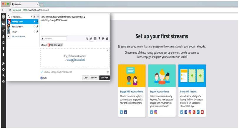 Hootsuite LinkedIn Tools