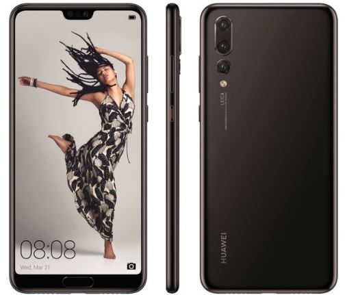 Huawei P20 Pro with notch like iPhone X