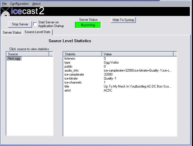 Icecast is an audio video streaming media server
