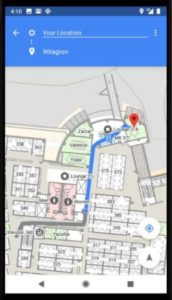 Indoor positioning with Wi-Fi RTT