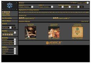 Jinzora free open source music server
