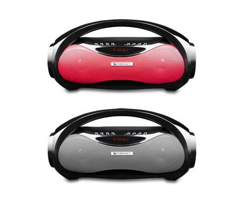Retro boombox Zebronics wireless portable speaker Axel