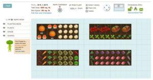 Smart Gardener best online free vegetable garden planning app