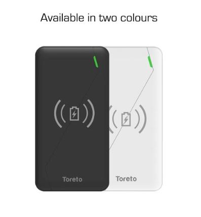 Toreto Zest Pro Wireless Power Bank color