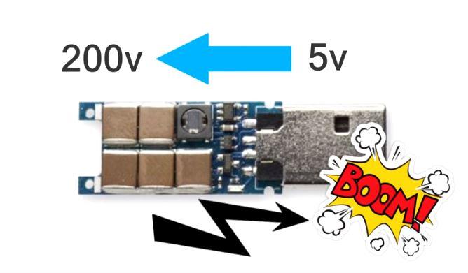 USB Killer – how it works