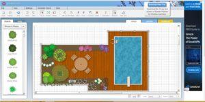 Virtual Online Garden Planner at SmallBluePrinter