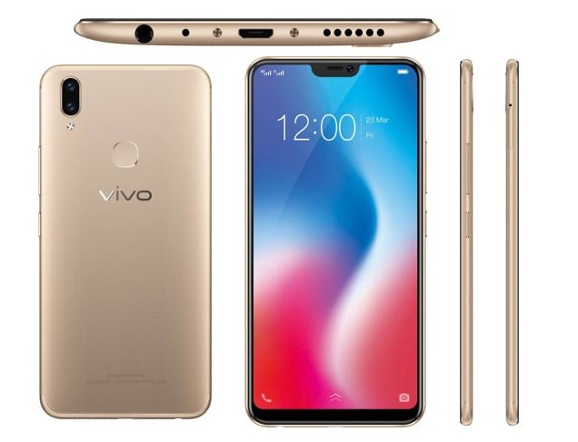 Vivo V9 Design smartphone review