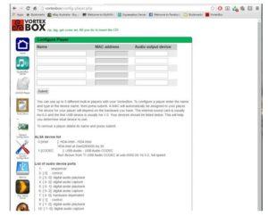 VortexBox -Dedicated Linux Music Server Distro